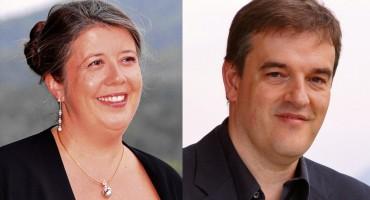 Isabelle Lagors y Christian Ott