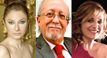 Montserrat Martí, Beatriz Gimeno y Miguel Ángel Tapia